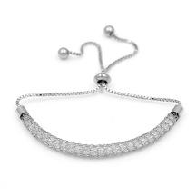 1 Row Tiny Cubic Zirconia Charm Bracelet